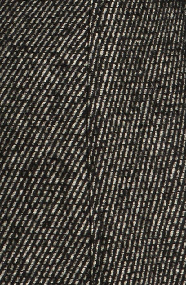 Alternate Image 4  - Vince Camuto Asymmetrical Zip Tweed Trench Coat