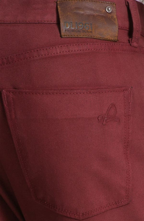 Alternate Image 4  - DL1961 'Russell' Slim Straight Jeans (Firebird)