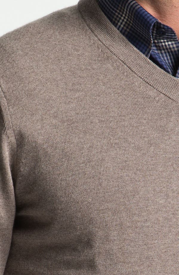 Alternate Image 3  - Nordstrom V-Neck Merino Wool Sweater