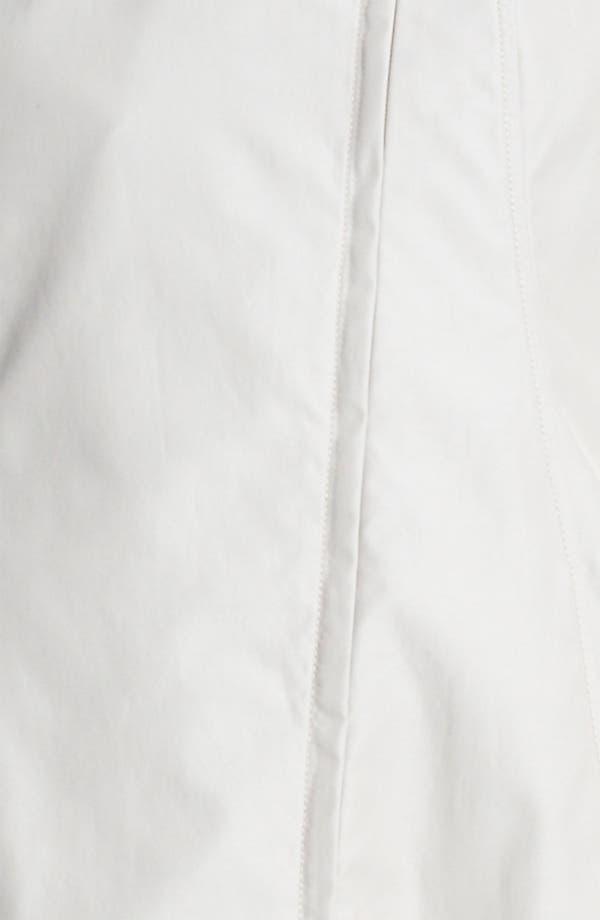 Alternate Image 3  - Armani Collezioni Technical Satin Coat