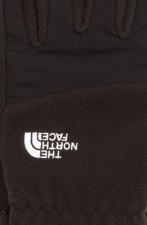 Alternate Image 2  - The North Face 'E-Tip Denali' Fleece Gloves