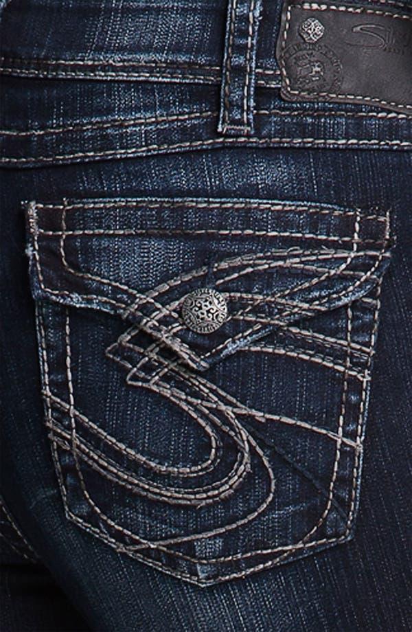 Alternate Image 3  - Silver Jeans Co. 'Suki' Surplus Bootcut Jeans (Juniors Plus)