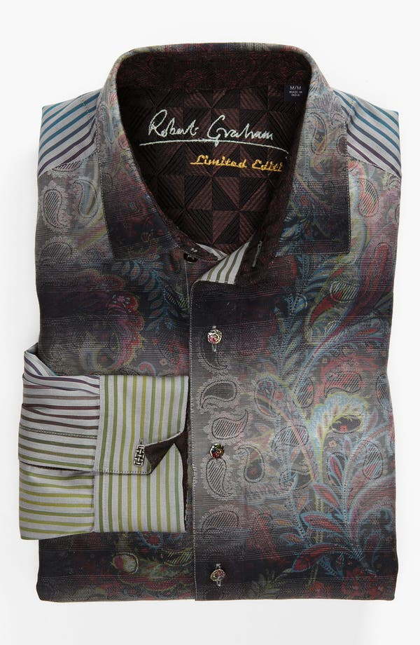Alternate Image 2  - Robert Graham 'Quintain' Sport Shirt (Limited Edition)