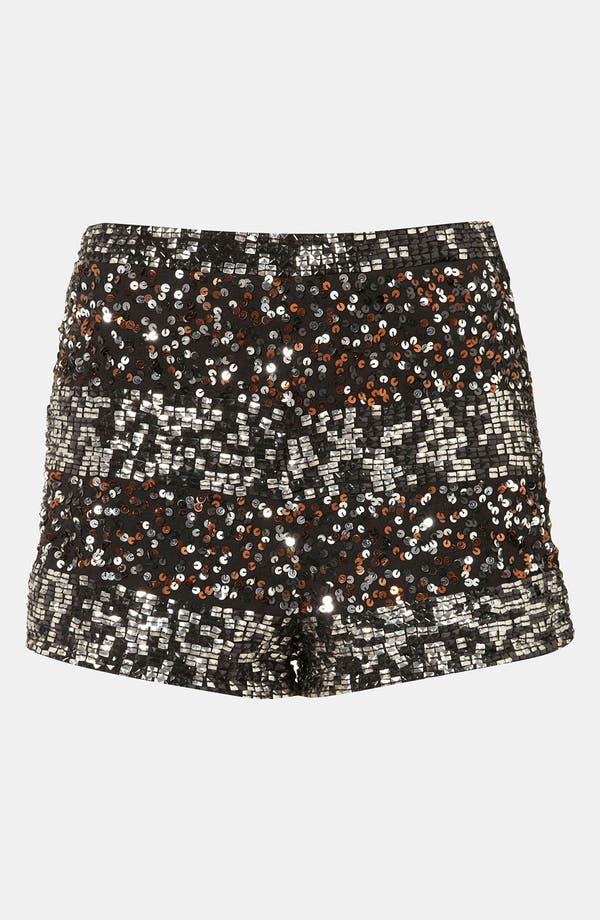 Alternate Image 1 Selected - Topshop Embellished Shorts