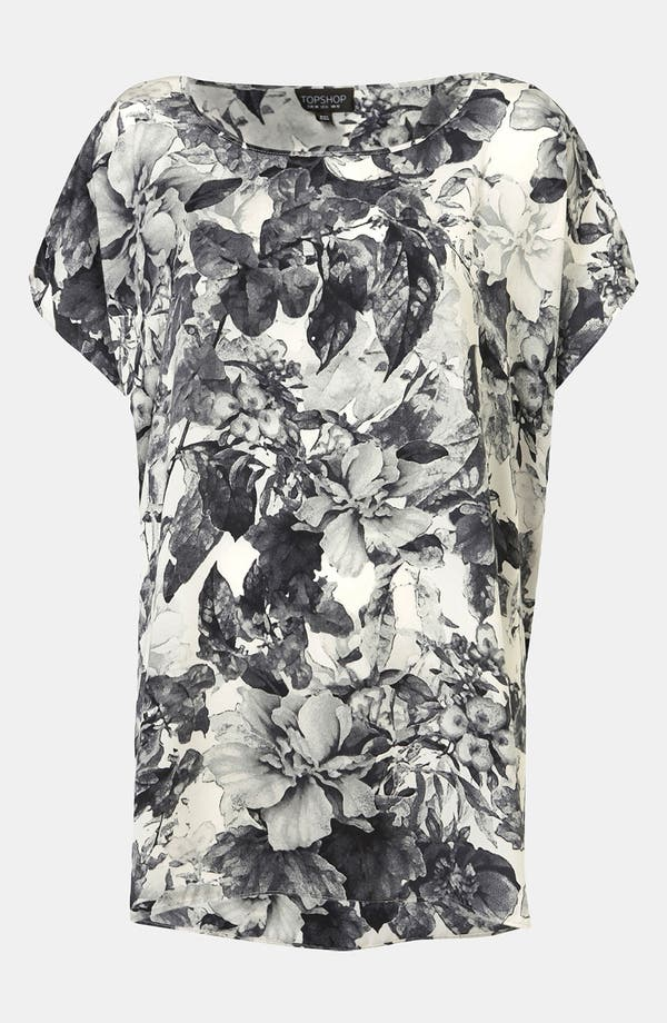 Alternate Image 1 Selected - Topshop Floral Tee