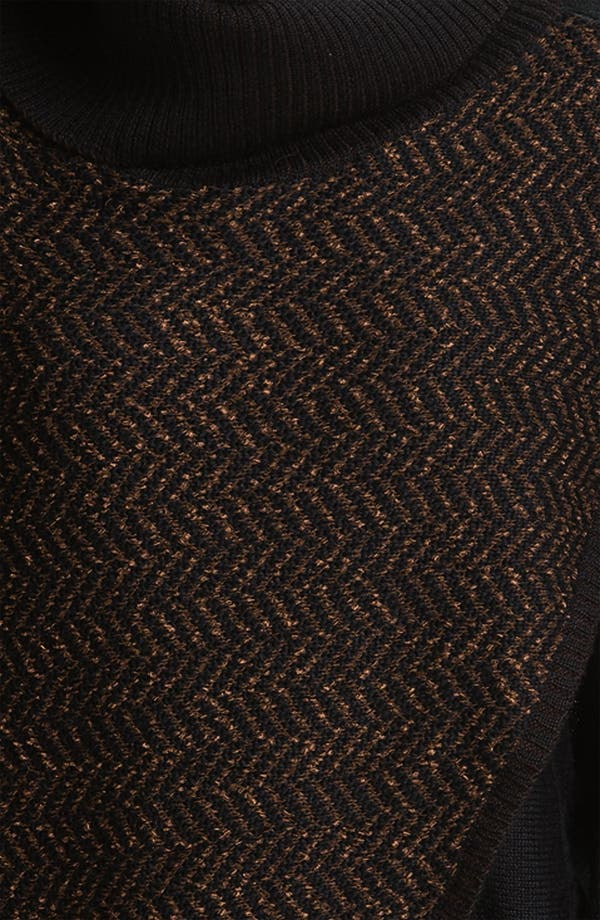 Alternate Image 3  - Curio Faux Wrap Turtleneck Sweater
