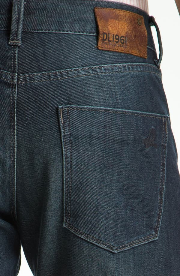 Alternate Image 4  - DL1961 'Russell' Slim Straight Leg Jeans (Mustang)