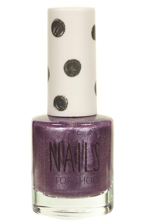 Main Image - Topshop 'Metallic' Nail Polish