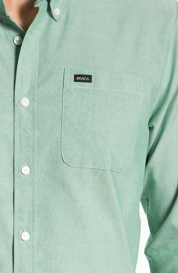 Alternate Image 3  - RVCA 'That'll Do' Oxford Shirt