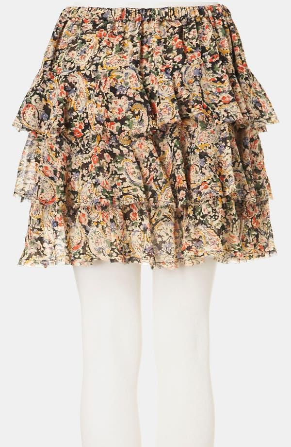 Alternate Image 2  - Topshop 'Lucy' Paisley Print Miniskirt