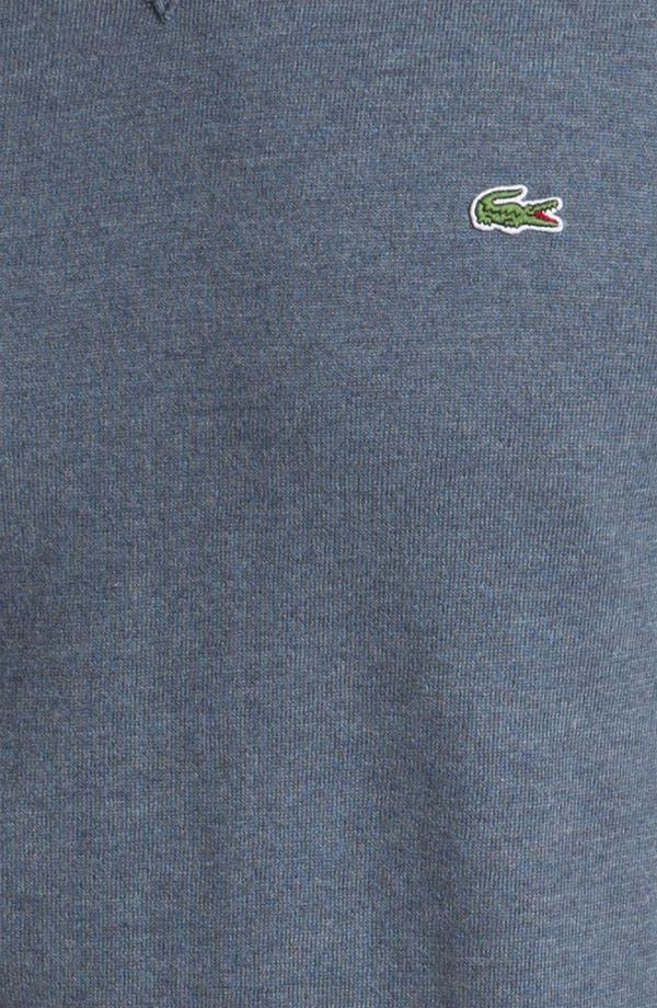 Alternate Image 3  - Lacoste Cotton & Cashmere Crewneck Sweater