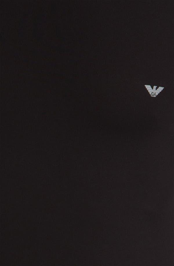 Alternate Image 3  - Emporio Armani 'Basic' Long Sleeve Stretch T-Shirt