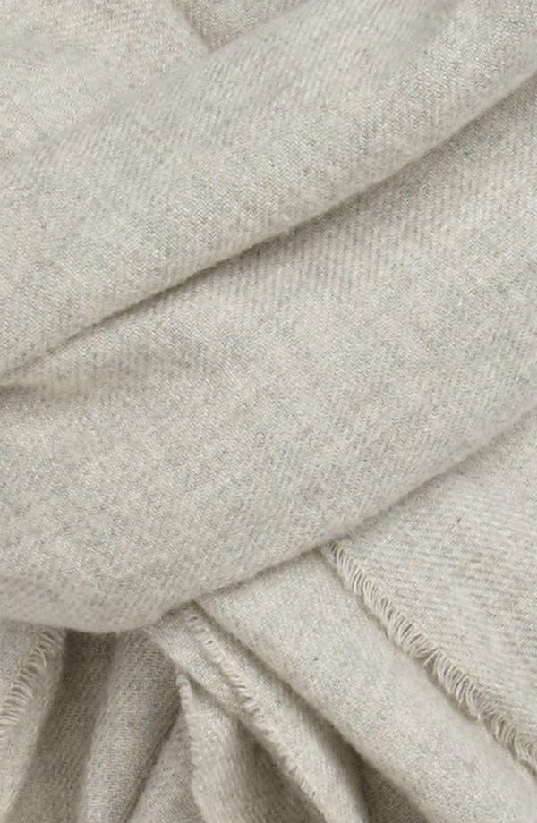 Alternate Image 2  - Polo Ralph Lauren Peached Cotton Flannel Scarf