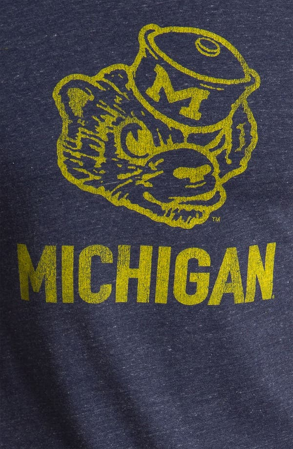 Alternate Image 3  - The Original Retro Brand 'University of Michigan Wolverines - Stitch' T-Shirt