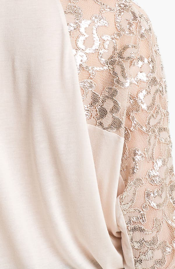 Alternate Image 3  - Ella Moss Lace Sleeve Dolman Top