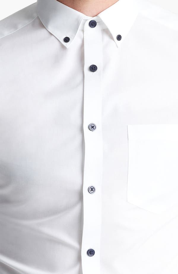 Alternate Image 3  - Topman Contrast Button Dress Shirt