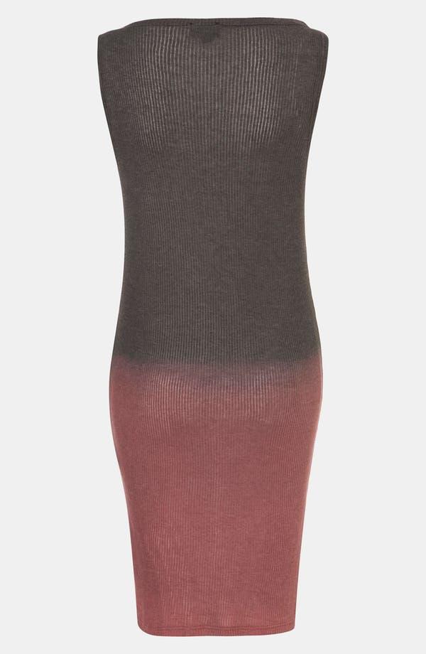 Alternate Image 2  - Topshop 'Studded Cross' Dip Dye Tunic