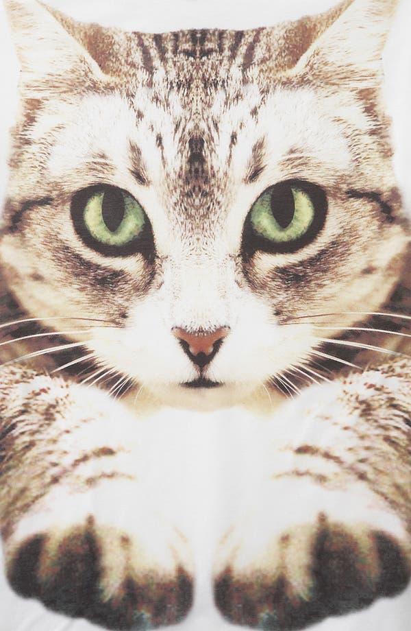 Alternate Image 3  - Topshop Cat Photo Tee