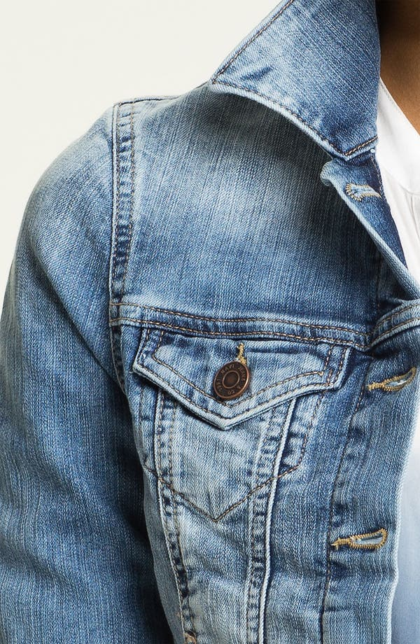 Alternate Image 3  - Mavi Jeans 'Samantha' Denim Jacket