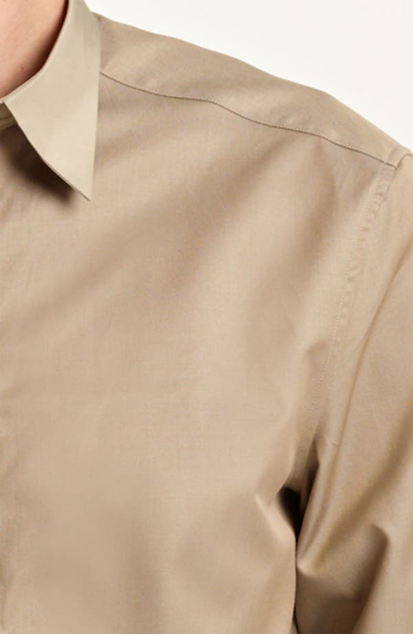 Alternate Image 3  - Z Zegna Trim Fit Sport Shirt