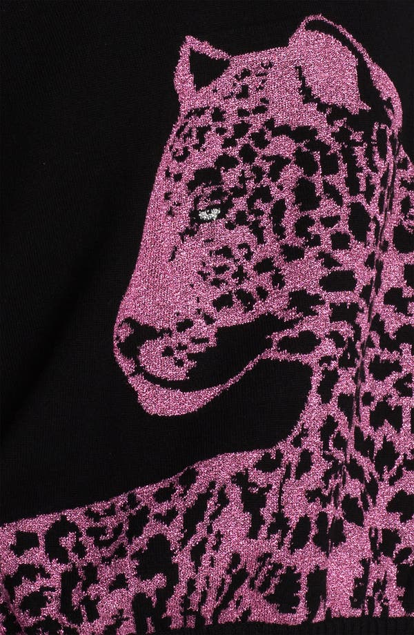 Alternate Image 3  - Juicy Couture Leopard Graphic Sweater