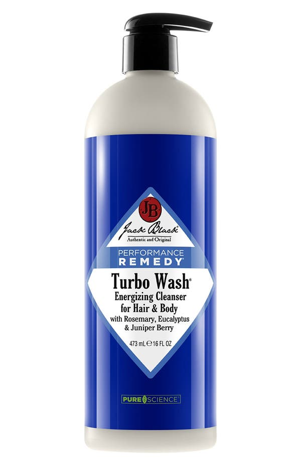 Alternate Image 1 Selected - Jack Black 'Turbo Wash®' Energizing Cleanser for Hair & Body (16 oz.) ($35 Value)