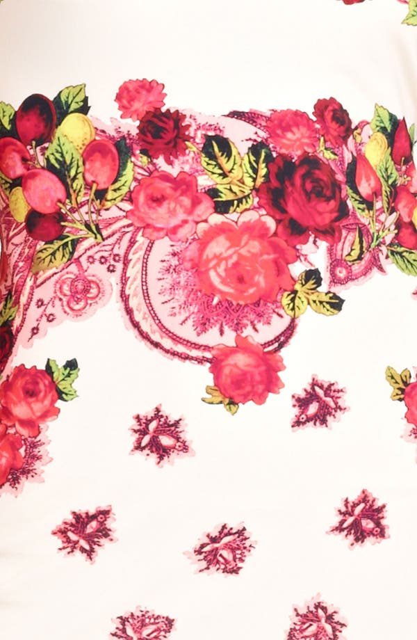 Alternate Image 3  - Jean Paul Gaultier Fuzzi Rose Print Jersey Dress