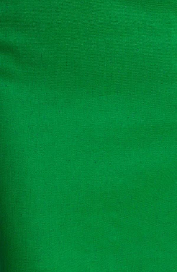 Alternate Image 3  - Milly Basket Weave Stretch Linen Sheath Dress