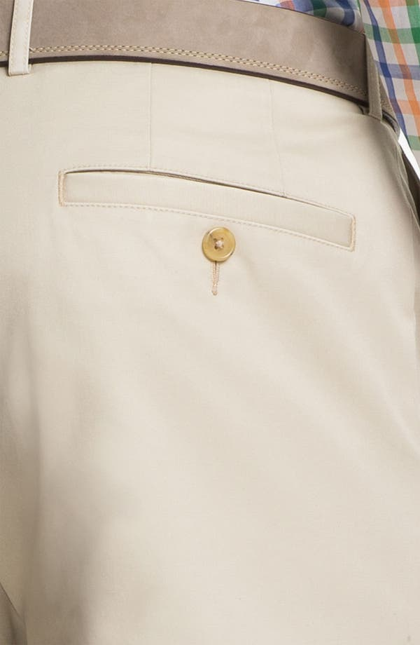 Alternate Image 3  - Calibrate Flat Front Non-Iron Supima® Cotton Pants