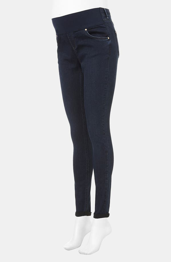 Alternate Image 2  - Topshop 'Leigh' Skinny Maternity Jeans