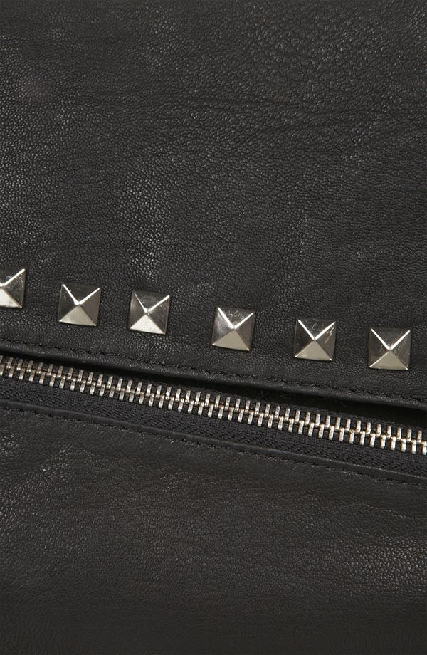 Alternate Image 4  - Topshop Asymmetrical Stud Leather Purse