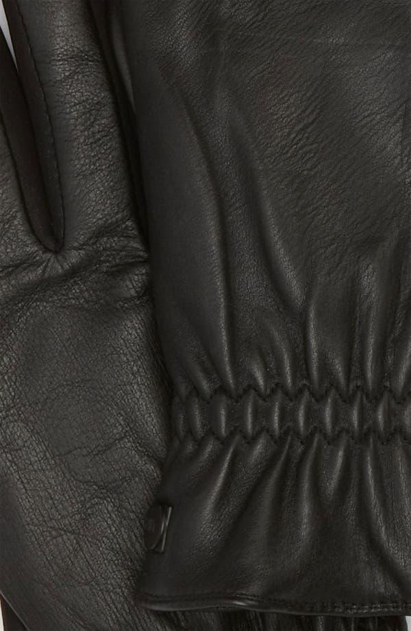 Alternate Image 2  - U|R Leather Gloves