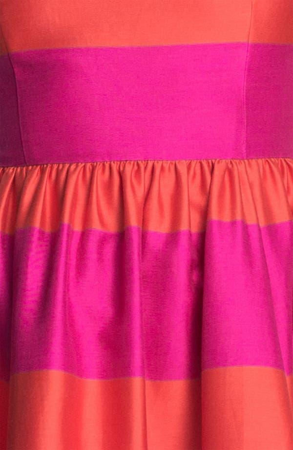 Alternate Image 3  - kate spade new york 'carolyn' stripe fit & flare dress