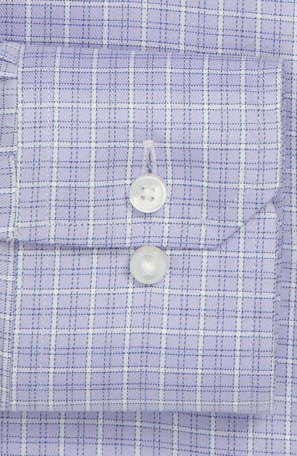 Alternate Image 2  - Thomas Pink Slim Fit Traveller Dress Shirt