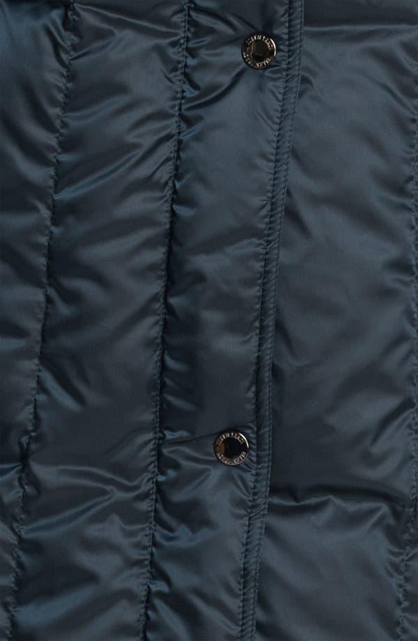 Alternate Image 3  - Ellen Tracy Pillow Collar Down Coat (Online Exclusive)