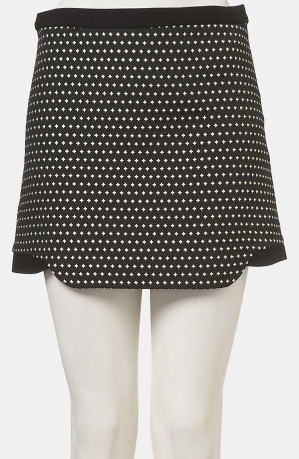Alternate Image 1 Selected - Topshop Star Jacquard Skirt