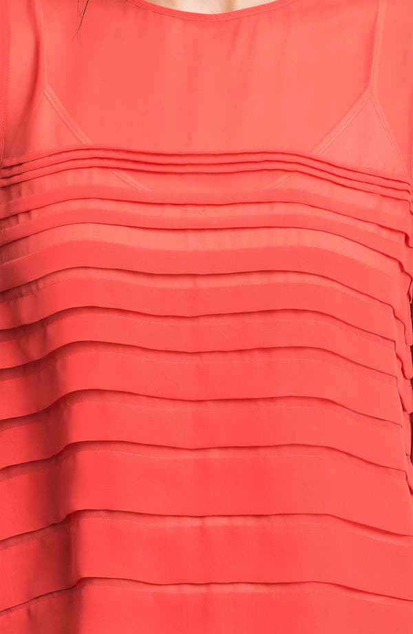 Alternate Image 3  - Vince Camuto Tiered Pleat Shell