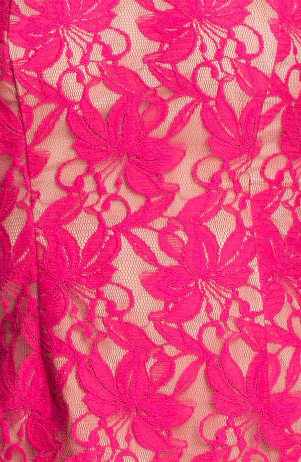 Alternate Image 3  - Donna Ricco Lace Sheath Dress