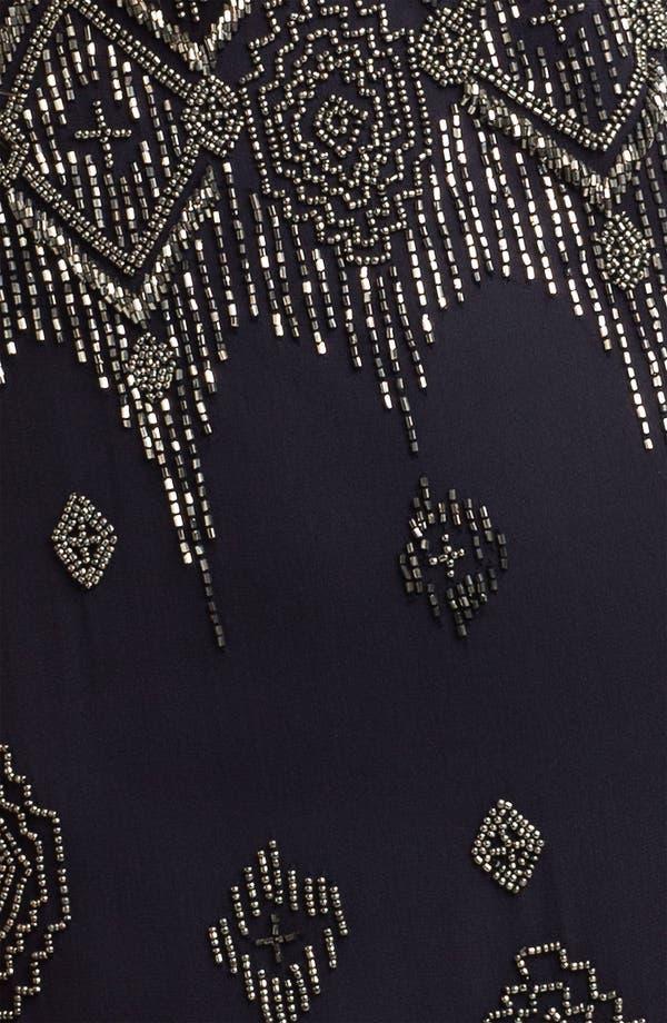 Alternate Image 3  - Adrianna Papell Beaded Silk Chiffon Overlay Dress