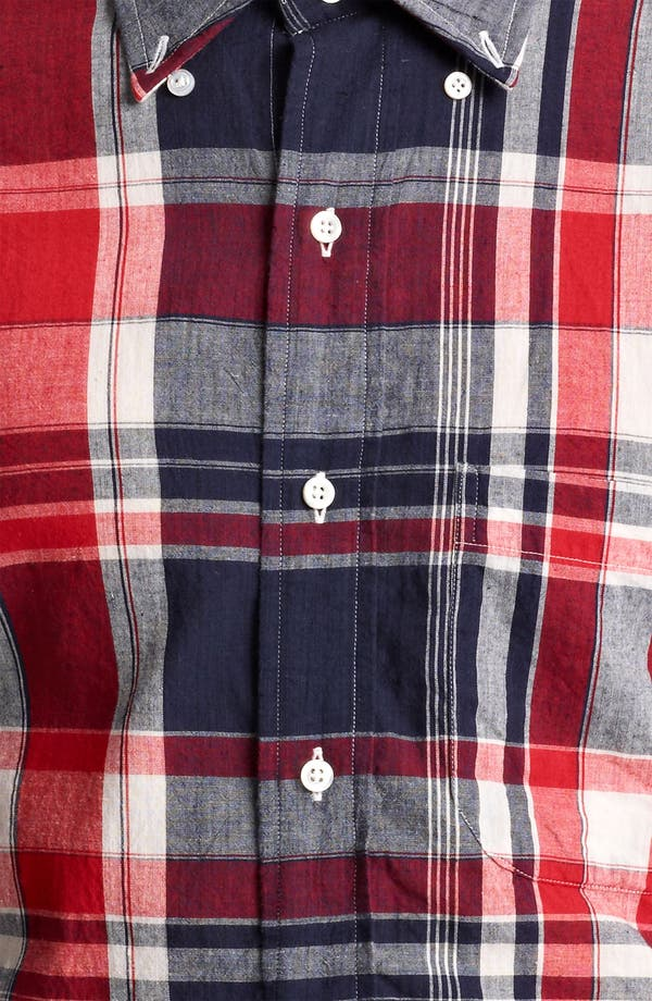 Alternate Image 4  - Thom Browne Madras Plaid Cotton Shirt