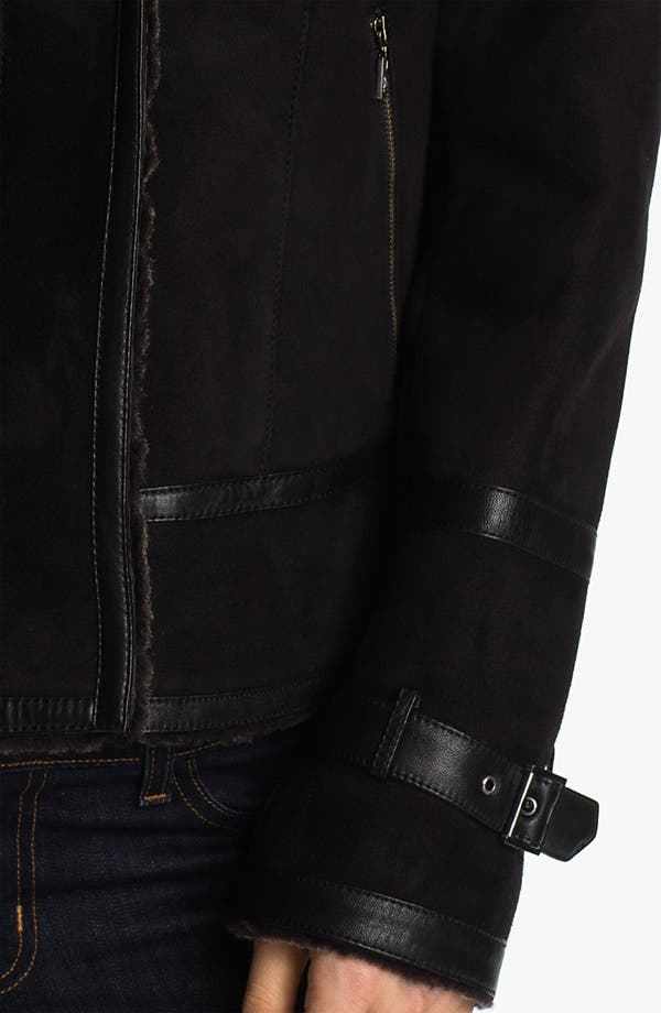 Alternate Image 4  - Cole Haan Genuine Shearling Jacket