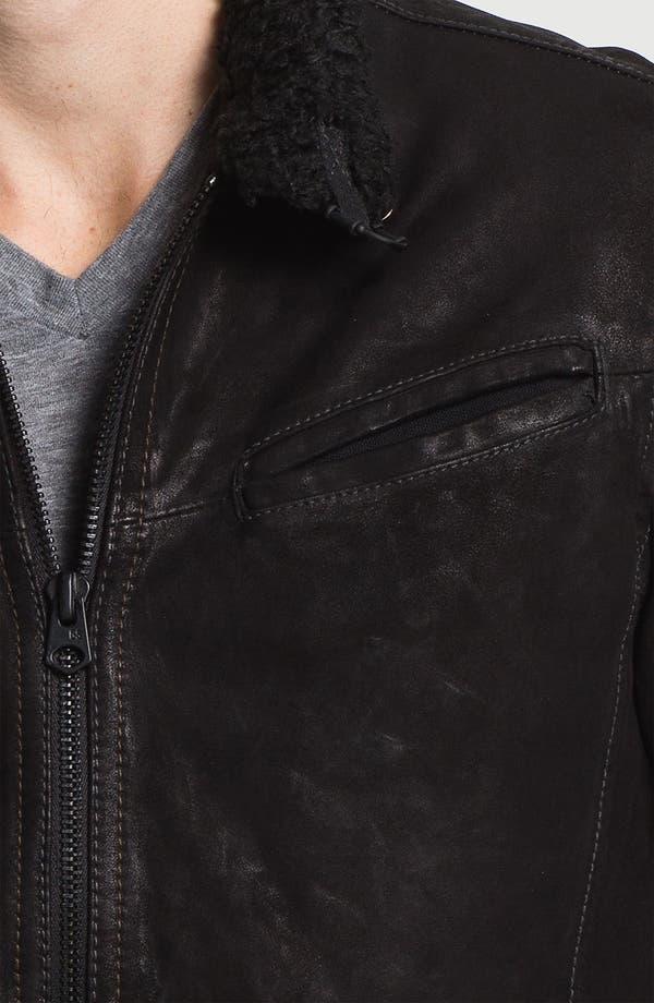 Alternate Image 3  - G-Star Raw 'Saddle' Leather Jacket