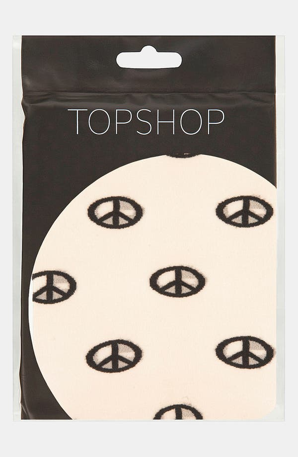 Alternate Image 2  - Topshop 'Peace Sign' Tights