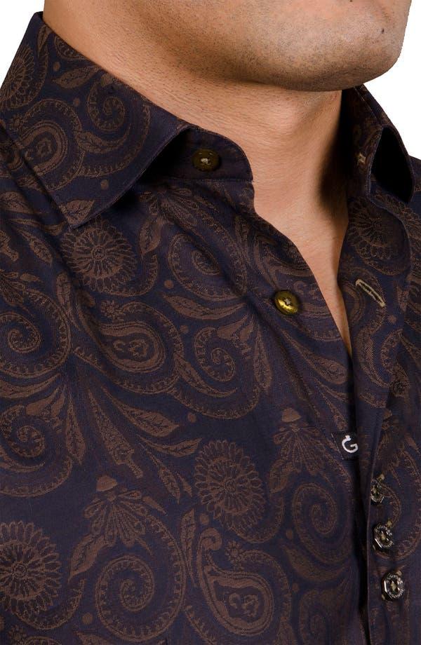 Alternate Image 5  - Bogosse 'Pierre 83' Trim Fit Sport Shirt