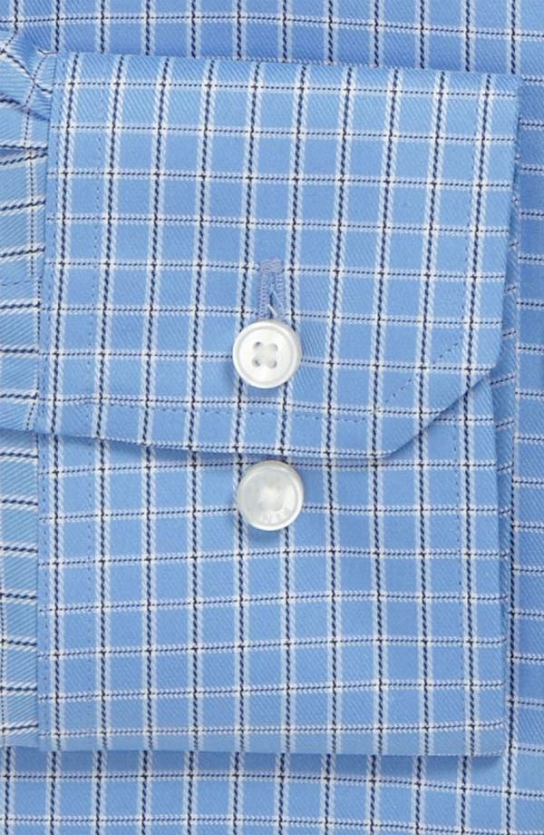 Alternate Image 2  - Thomas Pink Slim Fit Traveller Dress Shirt