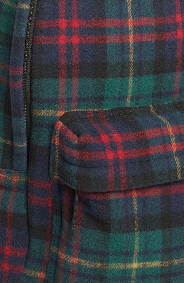 Alternate Image 5  - Topman Scottish Plaid Flannel Backpack