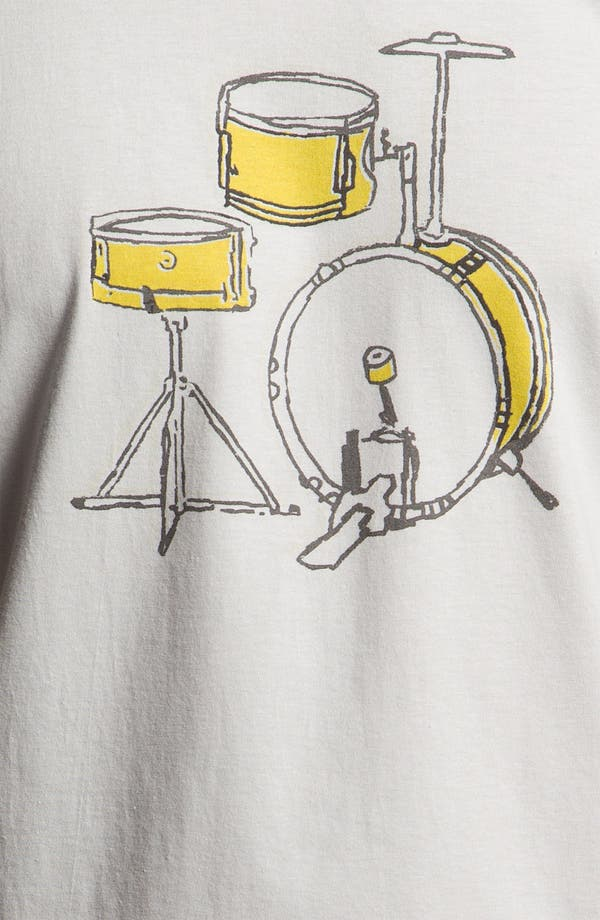 Alternate Image 3  - The Poster List 'Drums' Graphic T-Shirt