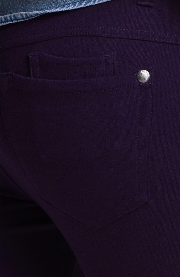 Alternate Image 3  - Jolt Ponte Knit Skinny Pants (Juniors)