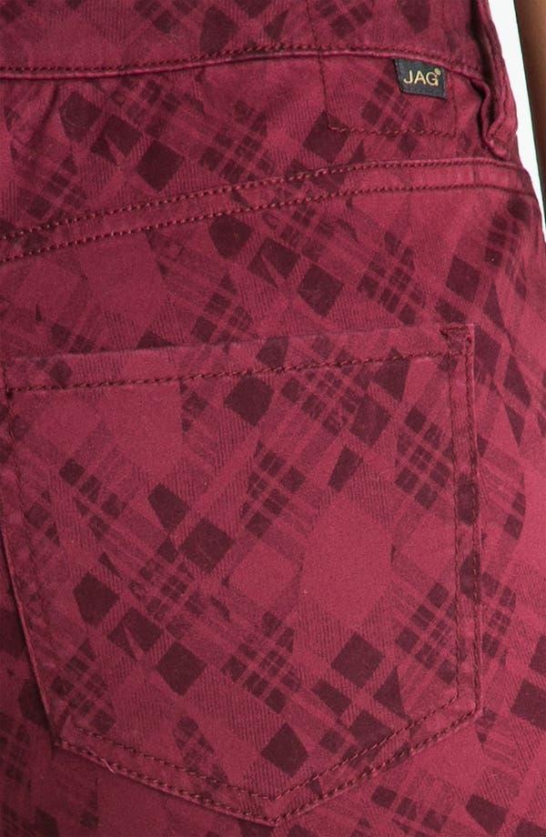 Alternate Image 3  - Jag Jeans 'Chloe - Kingston Plaid' Skinny Jeans (Petite) (Online Exclusive)