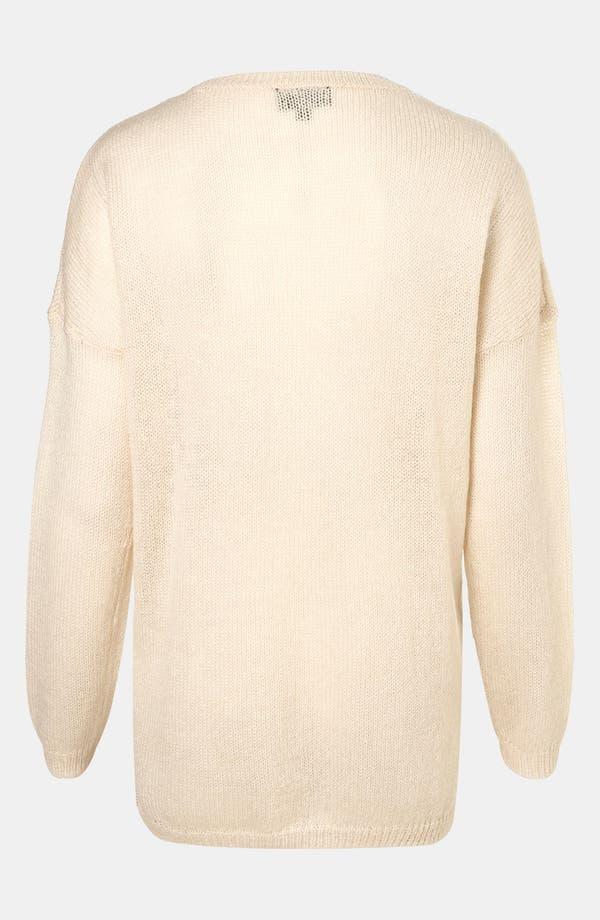 Alternate Image 2  - Topshop 'Cat-Tastrophe' Sweater